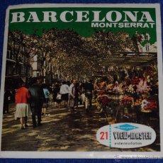 Fotografía antigua: VIEW MASTER - BARCELONA - MONTSERRAT (1955). Lote 53634877