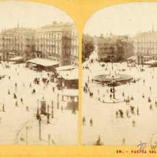Old photograph - Lamy. 10 Puerta del Sol à Madrid - 53810657