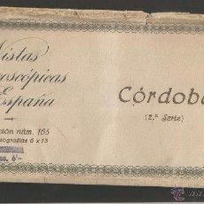 Fotografía antigua: CÓRDOBA - SERIE 2ª RELLEV - 15 VISTAS. Lote 53885471