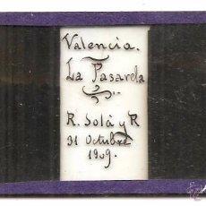 Fotografía antigua: VALENCIA. CRISTAL ESTEREOSCÓPICO. Lote 54595451