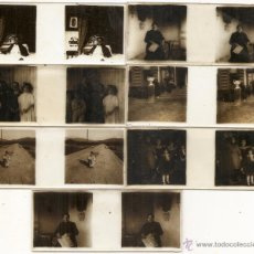 Fotografía antigua: 7 CRISTALES ESTEREOSCÓPICOS. ESPAÑA. SIN DETERMINAR. Lote 54595530