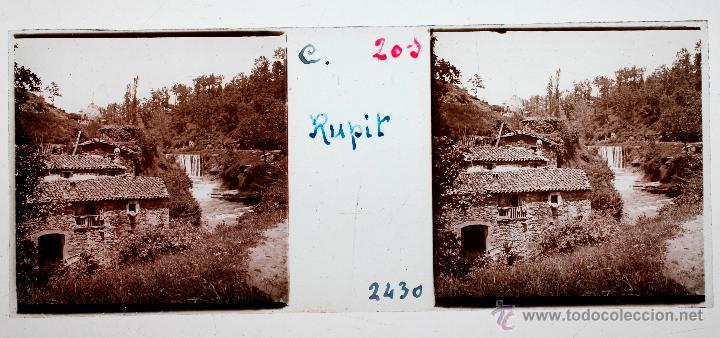 RUPIT, 1915 APROX. CRISTAL POSITIVO ESTEREO 10X4 CM. (Fotografía Antigua - Estereoscópicas)