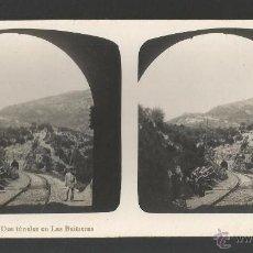Fotografía antigua: GAUCÍN - MÁLAGA - SERIE EL TURISMO PRÁCTICO - 17 X 8 CM. Lote 54695437
