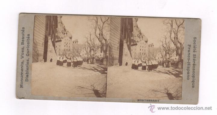 MONTSERRAT, SOCIETÉ STÉRÉOSCOPIQUE, 9 X 17,5 CM. 1890'S. (Fotografía Antigua - Estereoscópicas)