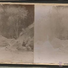 Fotografía antigua: PIERA - FOTO ESTEREOSCOPICA - MIDE 8,5 X 17,5 CM - (V-4744). Lote 55080369