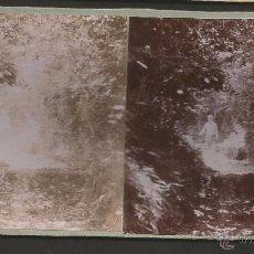 Fotografía antigua: PIERA - FOTO ESTEREOSCOPICA - MIDE 8,5 X 17,5 CM - (V-4745). Lote 55080396