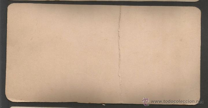 Fotografía antigua: AMER - ORILLAS DEL TER - FOTO ESTEREOSCOPICA - MIDE 8,5 X 17,5 CM - (V-4749) - Foto 2 - 55081614