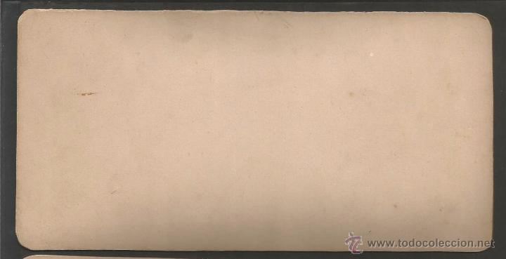 Fotografía antigua: LA CONRERIA - TIANA - FOTO ESTEREOSCOPICA - MIDE 8,5 X 17,5 CM - (V-4754) - Foto 2 - 55081774