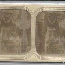 Fotografía antigua: LOTE 3 VISTAS ESTEROSCOPICAS FRANCIA RESIDENCIAS IMPERIALES. Lote 56318231