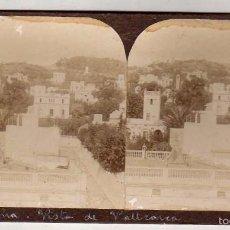 Old photograph - Estereoscópica. Vista de Vallcarca. Moderna Stereoskopo Barcelona. - 57346901