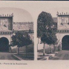 Fotografía antigua: ESTEROCOSPICA Nº12 CORDOBA.- PUERTA DE LAS BENDICIONES. Lote 57386333