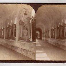 Fotografía antigua: MODERNA STEREOSKOPO. BARCELONA. MONTEALEGRE. CERCANÍAS DE BARCELONA. . Lote 57976175