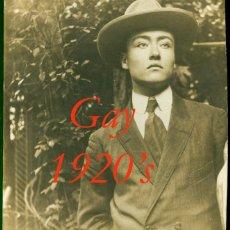 Fotografía antigua: RETRATO - GAY - 1920'S . Lote 58518077