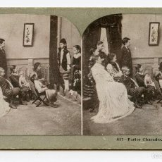 Fotografía antigua: ESTEREOSCÓPICA. FUNCIÓN INFANTIL METROPOLITAN SERIES. . Lote 59711883