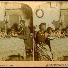 Fotografía antigua: NEW YORK - 1892 - DISCRIMINACIÓN Y POBREZA . Lote 60044879