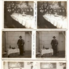 Fotografía antigua: LOTE DE 8 CRISTALES NEGATIVOS ESTEREOSCÓPICOS. ESPAÑA. BUENA CALIDAD. Lote 60477935