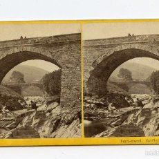 Old photograph - Puentes. Ponterwyd, Cardiganshire, Reino Unido. - 60559087