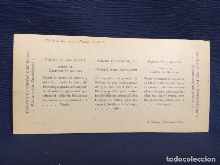 Fotografía antigua: Baleares palma de mallorca castillo bellver a mas cll martin 8,2x17cms estereoscopica - Foto 2 - 62008480
