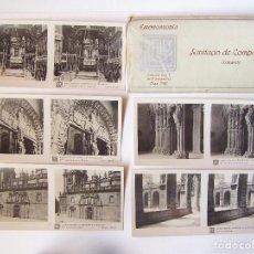 Alte Fotografie - Estuche nº7 con 15 vistas esteroscópicas de Santiago de Compostela, Catedral. J. Nonell. - 62288396
