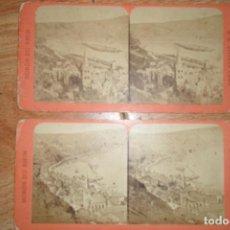 Fotografía antigua: 1 FOTOGRAFIA ESTEREOSCOPICA LA LENTE DE ORO VALENCIA ENRIQUE TORTAJADA OPTICO PARIS RHIN. Lote 62133956