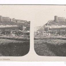 Fotografía antigua: ALMERÍA, NUM. 8, LA ALCAZABA.. Lote 218787965