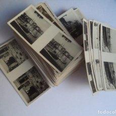 Fotografía antigua: LOTE DE 75 FOTOGRAFIAS ESTEREOSCOPICAS CIUDADES EUROPEAS ---PEQUEÑO TAMAÑO. Lote 73057859