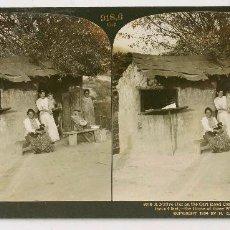 Fotografía antigua: CARACAS, LA GUAYRA , VENEZUELA 1904. FOTOGRAFÍA ESTEREO 9X18 CM.. Lote 73178475