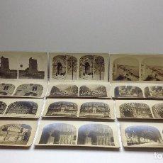 Fotografía antigua: LOTE DE FOTOGRAFIAS ESTEREOSCOPICAS DE TARRAGONA COL. A. MARTIN . Lote 78609113