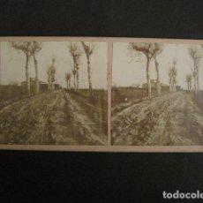 Fotografía antigua: SANT BOI - BARCELONA - FOTO ANTIGUA ESTEREOSCOPICA - (V-9581). Lote 79163205