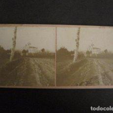 Fotografía antigua: SANT BOI - LLOBREGAT - FOTO ANTIGUA ESTEREOSCOPICA - (V-9584). Lote 79163529