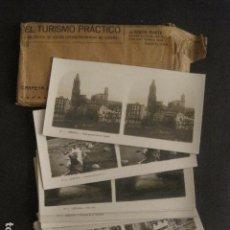 Fotografía antigua: GERONA-GIRONA-CONJUNTO 14 FOTOGRAFIAS ESTEREOSCOPICAS A. MARTIN EDICION ANTIGUA - VER FOTOS-(V-9998). Lote 80654518