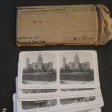 Fotografía antigua: SANTAS CREUS -CONJUNTO 10 FOTOGRAFIAS ESTEREOSCOPICAS A. MARTIN EDICION ANTIGUA-VER FOTOS-(V-10.025). Lote 80742290