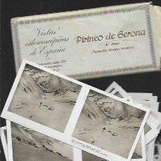Fotografía antigua: 15 VISTAS ESTEREOSCÓPICAS * PIRINEU DE GIRONA - NÚRIA - LA MOLINA NEVADO* (4 ª SERIE COMPLETA ) . Lote 82187144