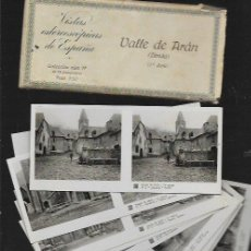Fotografía antigua: 15 VISTAS ESTEREOSCÓPICAS * VALL D ' ARAN * (1 ª SERIE COMPLETA ). Lote 82188692