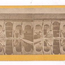 Fotografía antigua: GRANADA, ALHAMBRA, 1857-63 APROX. ALBÚMINA 9X18CM SIN DATOS. Lote 84199904