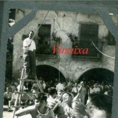 Fotografía antigua: ALBÍ - VINAIXA - ÁLBUM - FESTA MAJOR - 1950'S - LLEIDA. Lote 84277632