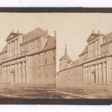Fotografía antigua: MADRID, EL ESCORIAL NUM. 49, GAUDIN ED, 1857-63 APROX. ALBÚMINA SOBRE CARTÓN 9X18 CM. Lote 84298216