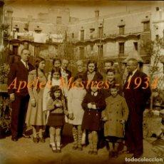 Fotografía antigua - APELES MESTRES - 1934 - POSITIU DE VIDRE - 85095520
