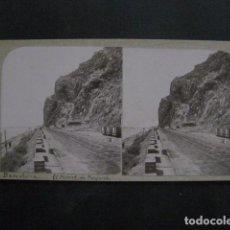 Fotografía antigua: BARCELONA - EL MORROT DE MONTJUICH - FOTOGRAFIA ESTEREOSCOPICA -VER FOTOS-(V-11.221). Lote 87372920