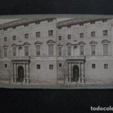 Fotografía antigua: BARCELONA - PALACIO DE LA DIPUTACION PROVINCIAL - FOTOGRAFIA ESTEREOSCOPICA -VER FOTOS-(V-11.222). Lote 87373020
