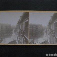 Fotografía antigua: BARCELONA - CALLE DE AUSIAS MARCH - FOTOGRAFIA ESTEREOSCOPICA -VER FOTOS-(V-11.224). Lote 87373204