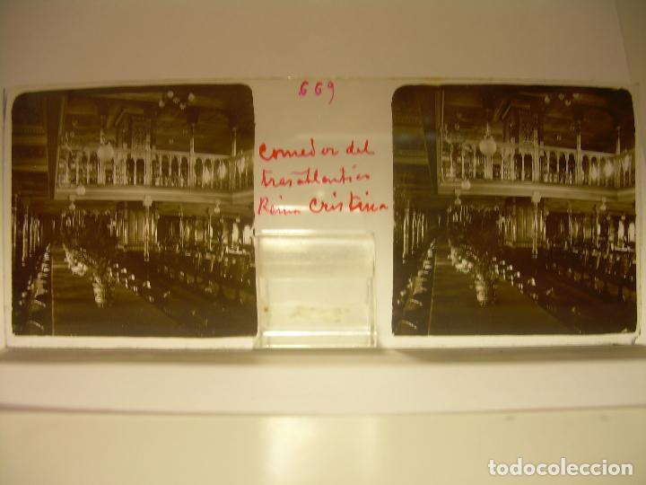 Fotografía antigua: INTERESANTE CRISTALES ESTEREOSCOPICOS....BUQUES BARCOS PUERTO DE BARCELONA.....TOTAL 13 UDS. CA 1909 - Foto 21 - 88919348