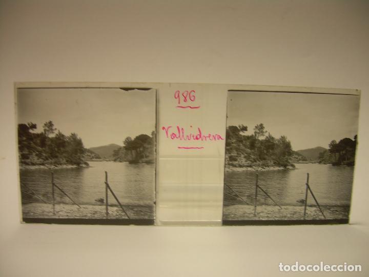Fotografía antigua: ALREDEDORES DE BARCELONA,FUNICULAR, VALLVIDRERA LABERINTO HORTA 23 CRISTAL ESTREOSCOPICO- CA.1910 - Foto 7 - 89093603