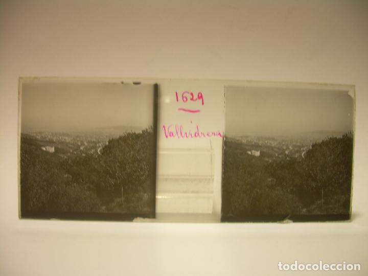 Fotografía antigua: ALREDEDORES DE BARCELONA,FUNICULAR, VALLVIDRERA LABERINTO HORTA 23 CRISTAL ESTREOSCOPICO- CA.1910 - Foto 9 - 89093603