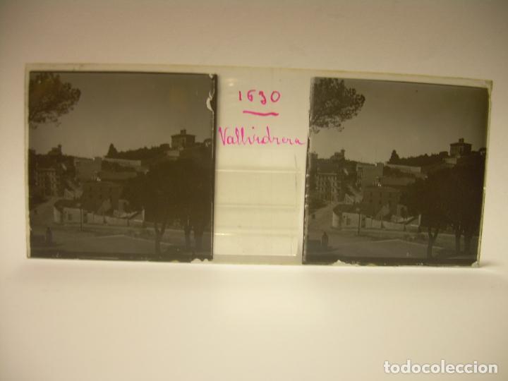 Fotografía antigua: ALREDEDORES DE BARCELONA,FUNICULAR, VALLVIDRERA LABERINTO HORTA 23 CRISTAL ESTREOSCOPICO- CA.1910 - Foto 10 - 89093603