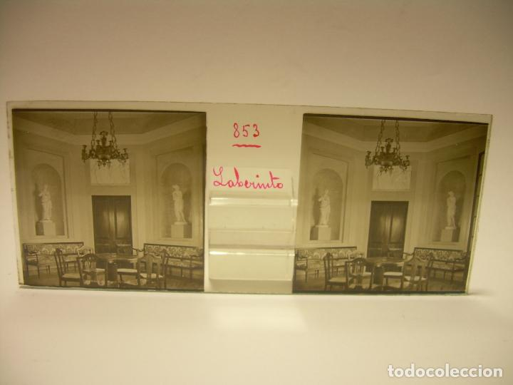 Fotografía antigua: ALREDEDORES DE BARCELONA,FUNICULAR, VALLVIDRERA LABERINTO HORTA 23 CRISTAL ESTREOSCOPICO- CA.1910 - Foto 16 - 89093603
