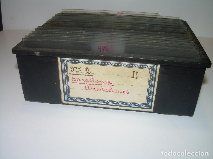 Fotografía antigua: ALREDEDORES DE BARCELONA,FUNICULAR, VALLVIDRERA LABERINTO HORTA 23 CRISTAL ESTREOSCOPICO- CA.1910 - Foto 25 - 89093603