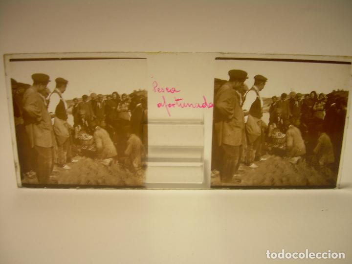 Fotografía antigua: BADALONA- MONTGAT,- MONTSENY- CAJETIN 22 CRISTAL ESTEREOSCOPICO- Ca.1910 - Foto 2 - 88947672