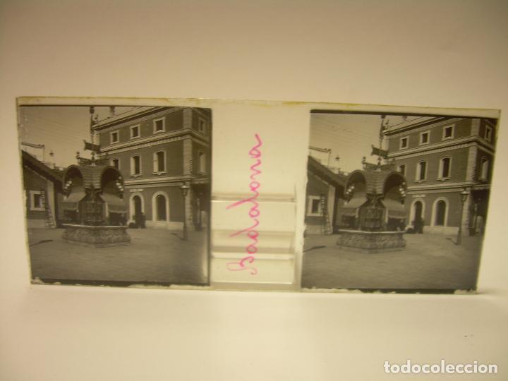 Fotografía antigua: BADALONA- MONTGAT,- MONTSENY- CAJETIN 22 CRISTAL ESTEREOSCOPICO- Ca.1910 - Foto 3 - 88947672