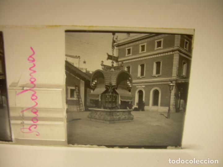 Fotografía antigua: BADALONA- MONTGAT,- MONTSENY- CAJETIN 22 CRISTAL ESTEREOSCOPICO- Ca.1910 - Foto 4 - 88947672